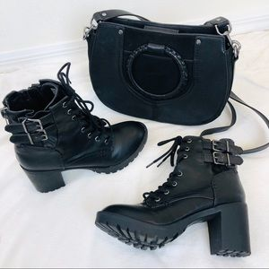 ➖Steve Madden➖ Compton Moto Boots